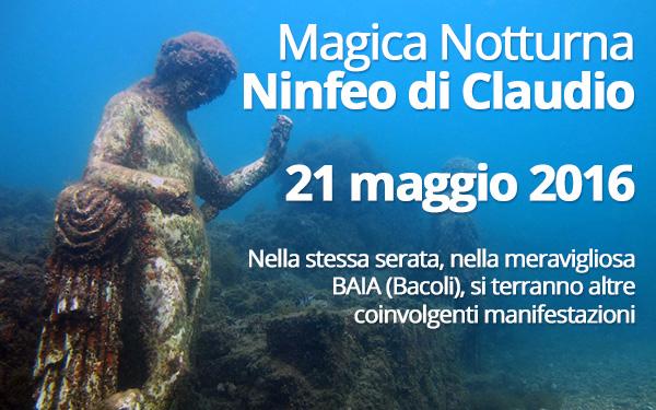 Magina Notturna Ninfeo di Claudio